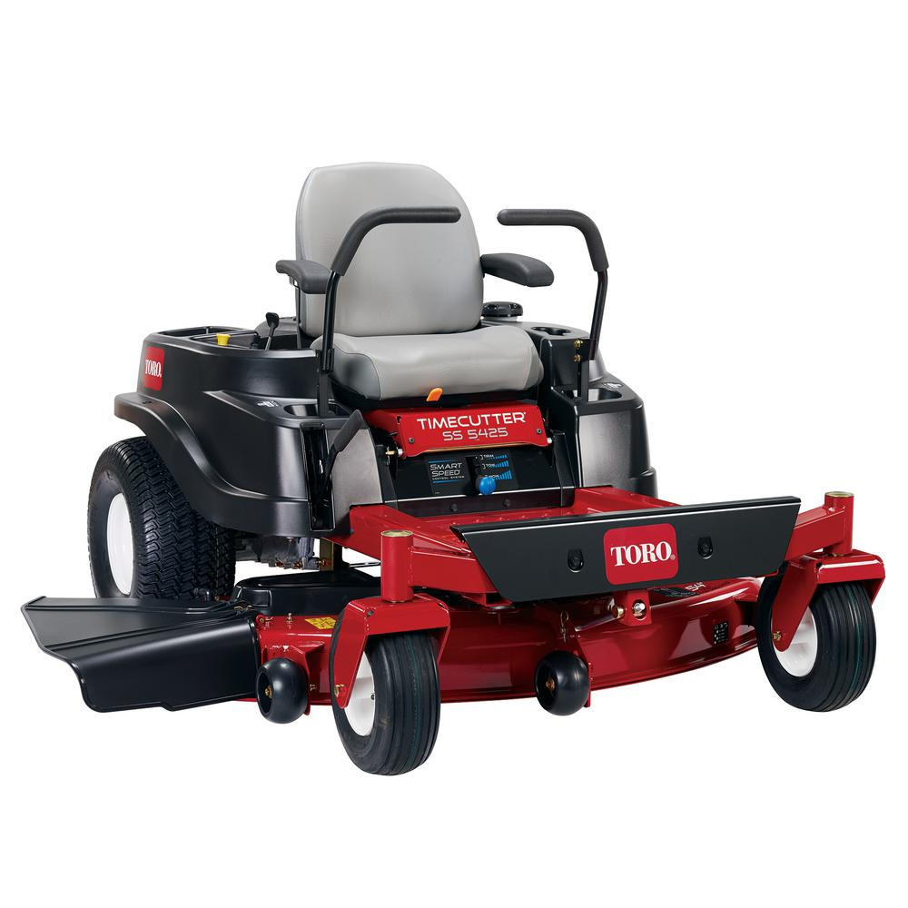 Toro timecutter 50 in 245 hp v twin zero turn riding mower with toro timecutter 50 in 245 hp v twin zero turn riding mower with smart speed 74731 the home depot publicscrutiny Gallery