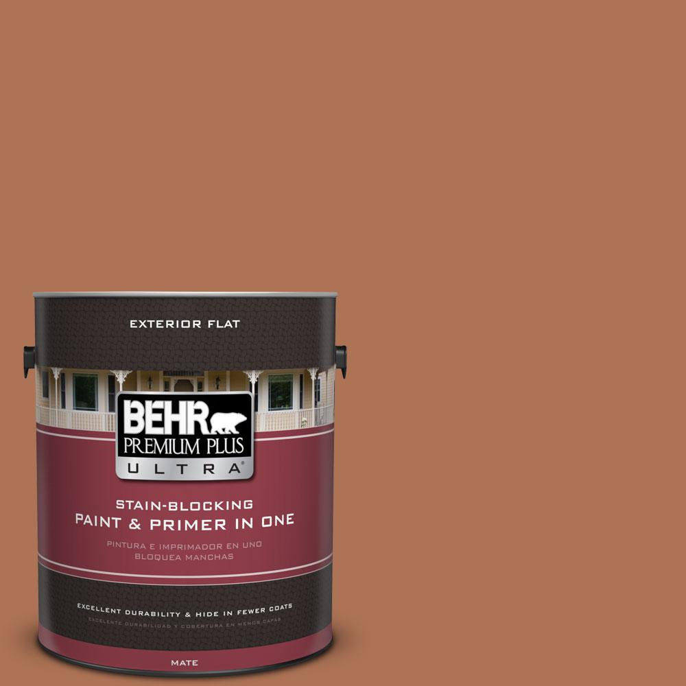 1-Gal. #PPU3-15 Glazed Pot Flat Exterior Paint