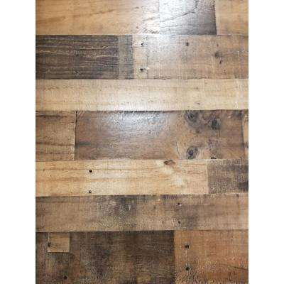 Rustic Wall Paneling Boards Planks Panels The Home Depot