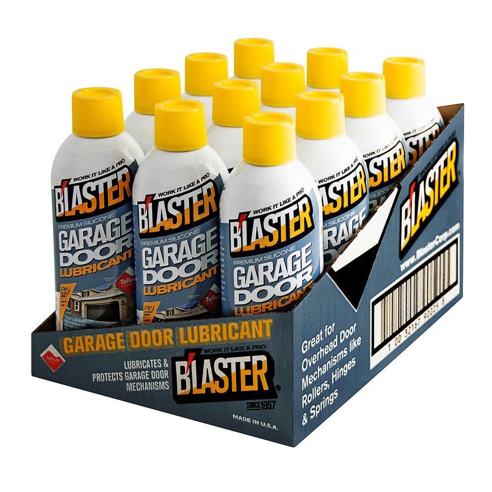Blaster 9.3 oz. Premium Silicone Garage Door Lubricant (Case of 12)