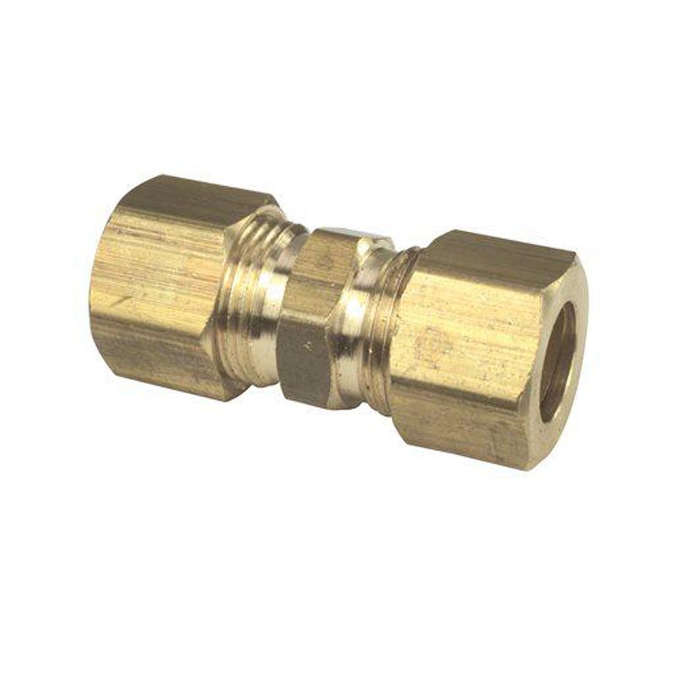 7/8 in. O.D. Brass Compression Union Lead Free