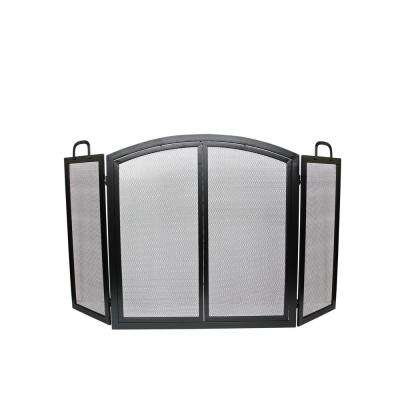 Groovy Radclife Manor 3 Panel 55 In Fireplace Screen Home Interior And Landscaping Ologienasavecom