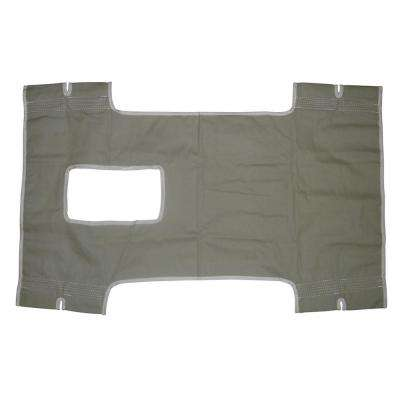 Patient Lift Sling Canvas with Commode Cutout