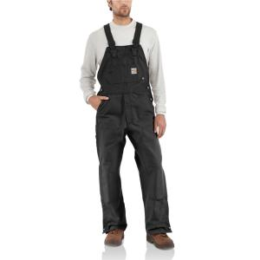 906a7765da5f Carhartt Men's 30x32 Carhartt Brown Cotton Bib Overalls-R01-BRN ...