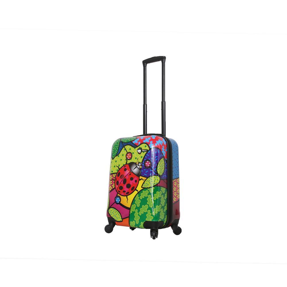 Allegra 20 in. Pop Ladybug Spinner Suitcase