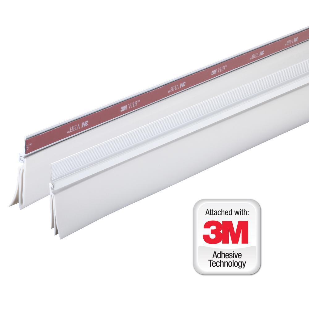 Genial M D Building Products 36 In. White Cinch Door Seal Bottom (1 Piece)