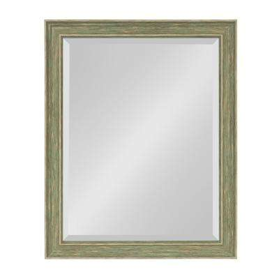 Harvest Rectangle Green Wall Mirror