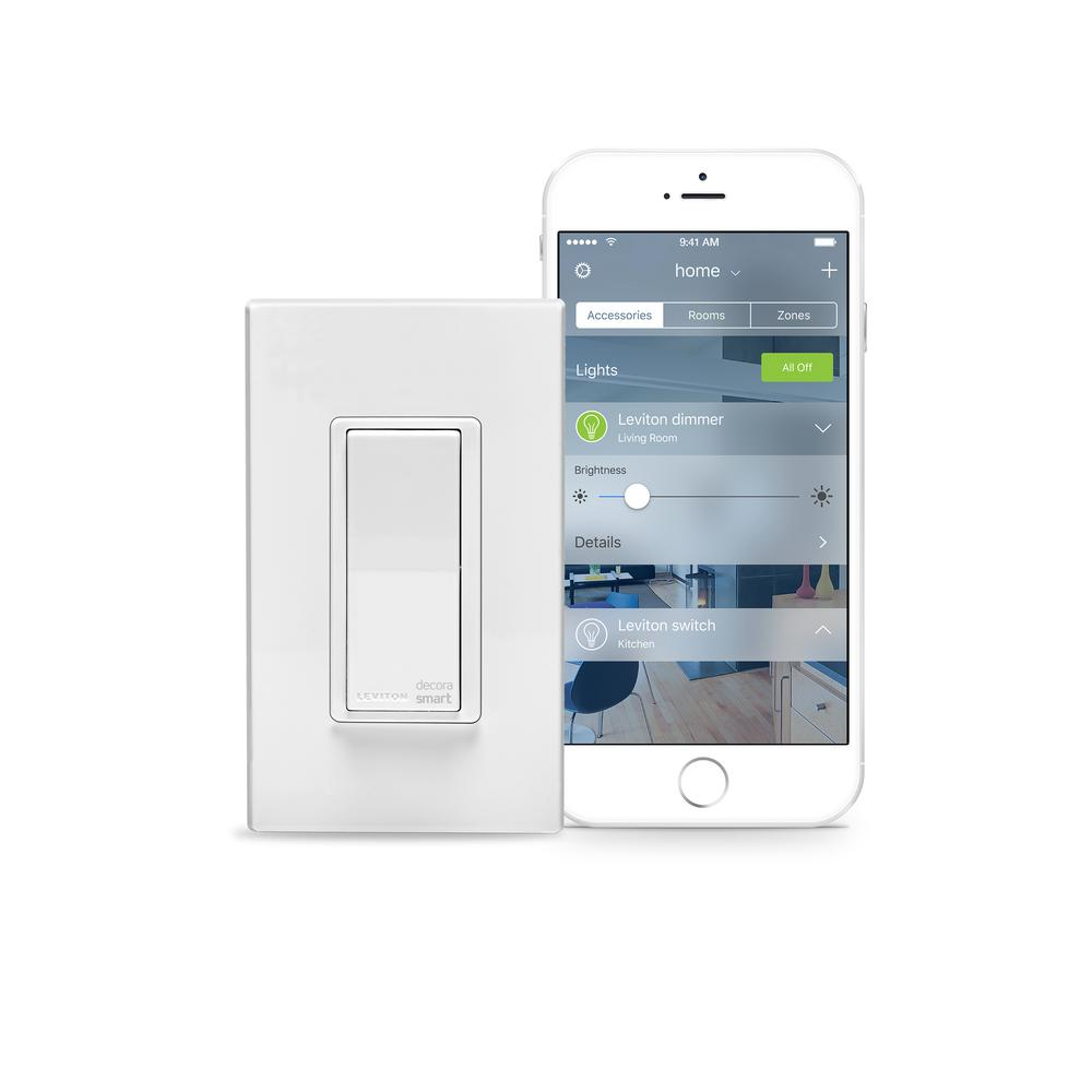 Leviton 15 Amp Decora Smart With Homekit Technology Switch