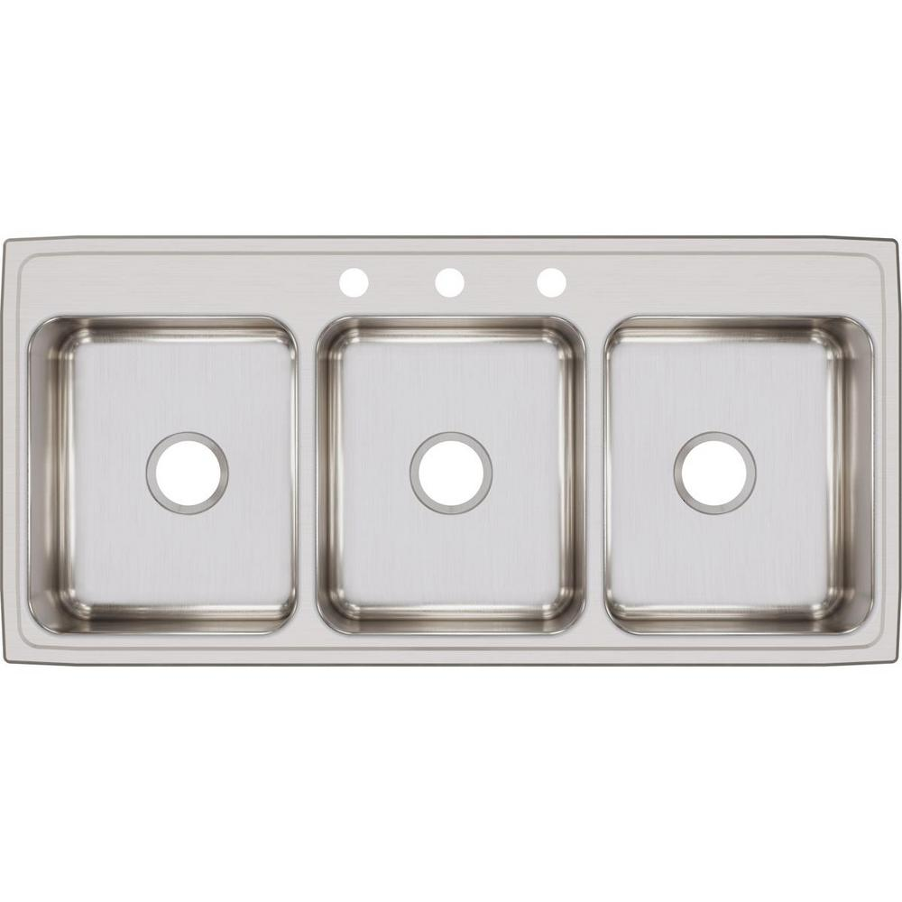 3 Bowl Commercial Kitchen Sink - Easy Home Decorating Ideas