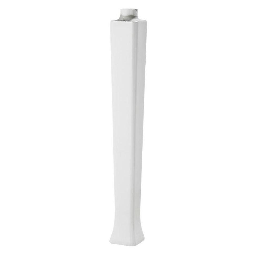 Series 1900 Console Lavatory Leg in White
