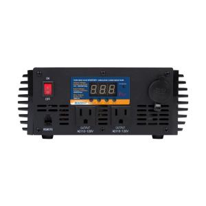 Sunforce 1000-Watt Pure Sine Wave Inverter by Sunforce