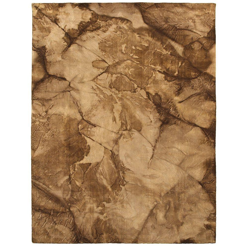 LR Resources Tie Dye Beige 5 ft. x 7 ft. 9 in. Plush Indoor Area Rug