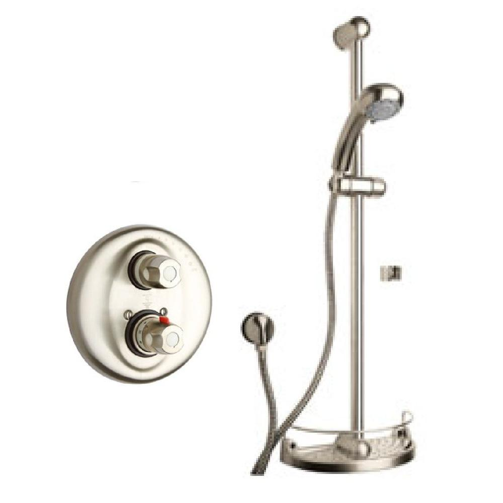 LaToscana Water Harmony Shower System 1 in Brushed Nickel