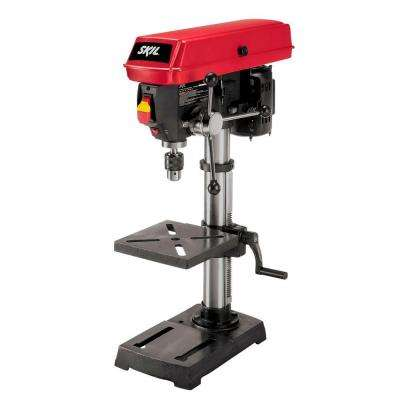 10 in. Portable Drill Press with Built-In Laser