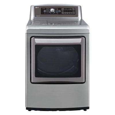 7.3 cu. ft. Gas Dryer with Steam in Graphite Steel, Energy Star