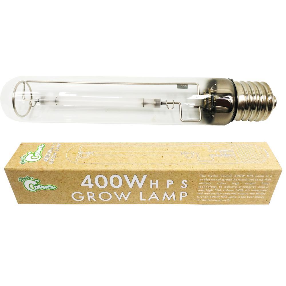 Hydro Crunch 400 Watt High Pressure Sodium Replacement Hid Hps Grow Light Bulb D911009200 The Home Depot