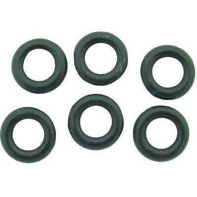 1/2 in. O.D. x 5/16 in. I.D. #283 Rubber O-Ring (6-Pack)