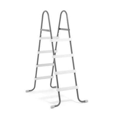 Steel Frame Pool Ladder for 48 in. Wall Height Above Ground Swimming Pools