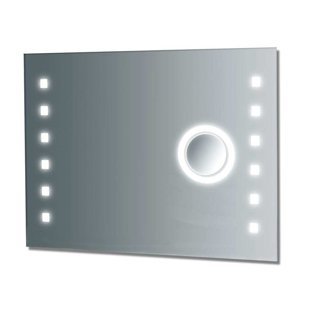36 in. W x 28 in. L Fog Free Frameless Wall Mirror