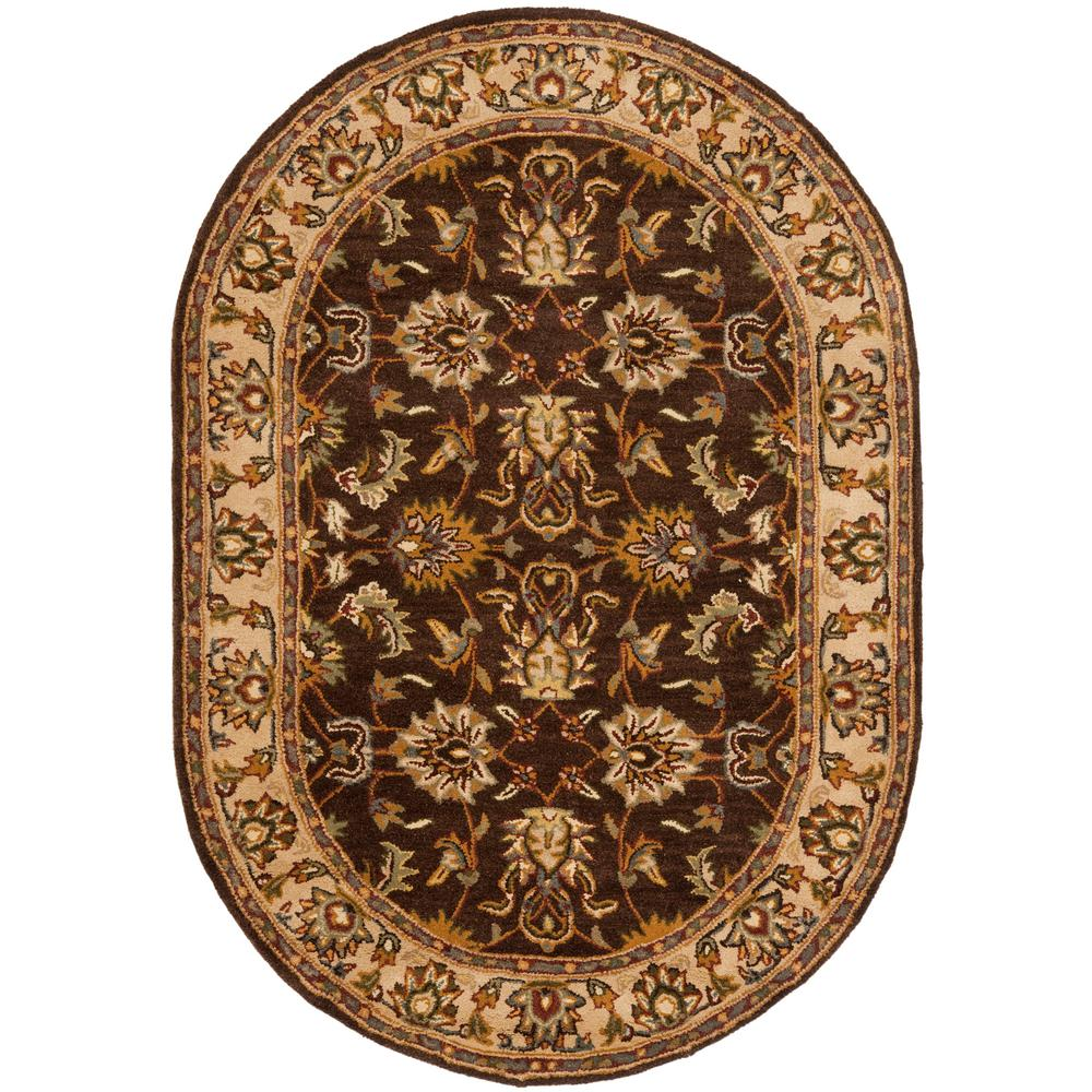 Heritage Brown/Ivory 7 ft. 6 in. x 9 ft. 6 in.