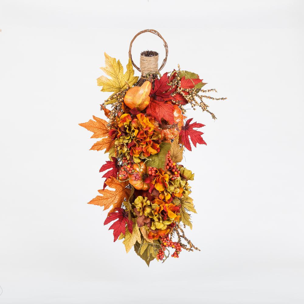 24.5 in. Harvest Heirloom Pumpkin Teardrop