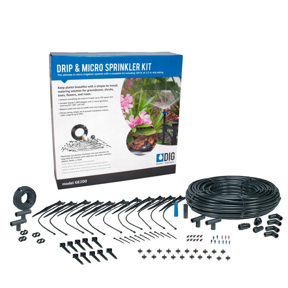 DIG Drip and Micro Sprinkler Kit by DIG