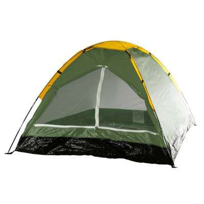 Happy Camper 2-Person Leafy Green Tent