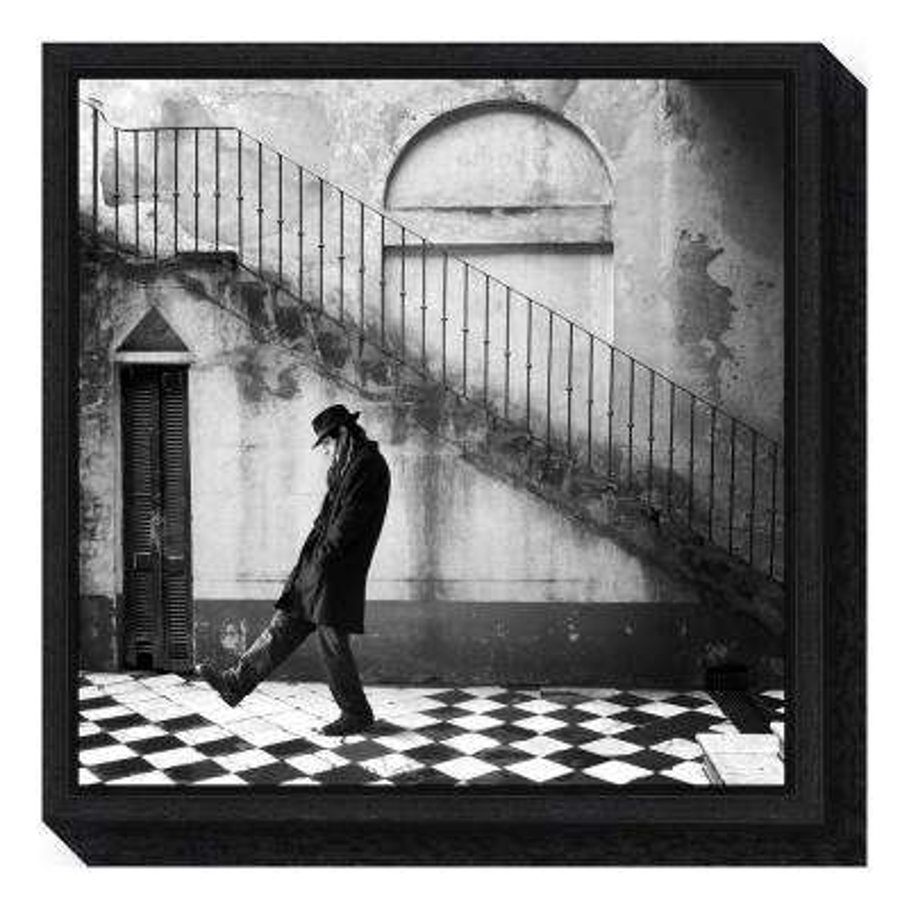 """geometrias"" by Alejandra Baci Framed Canvas Wall Art"