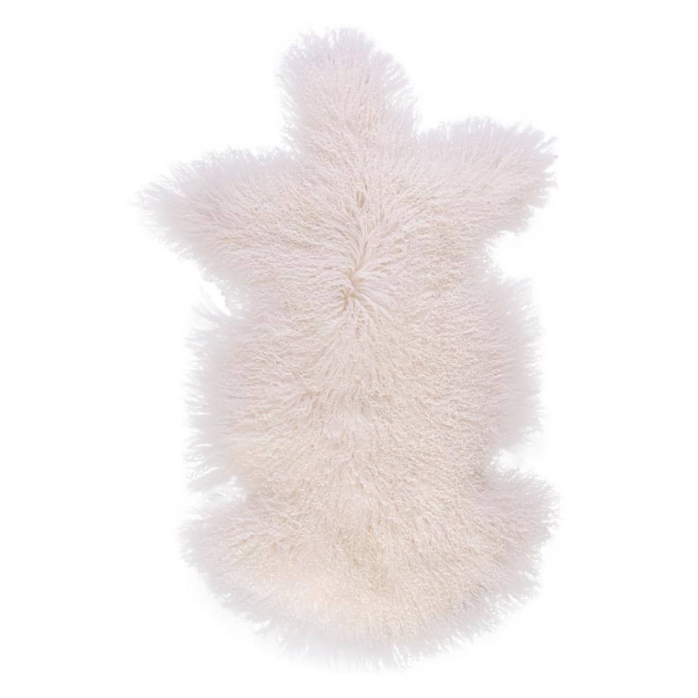 DEERLUX Genuine Mongolian Lamb Fur