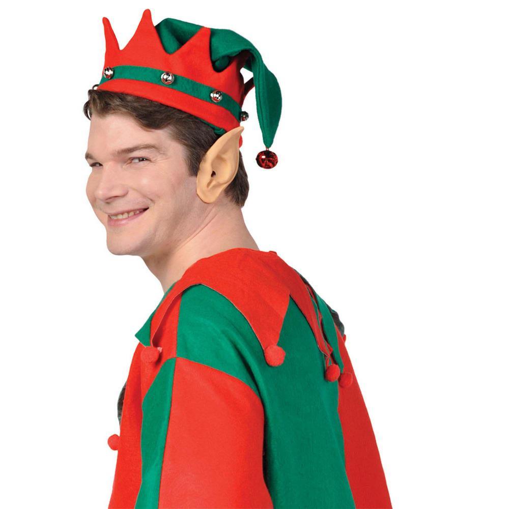 Elf Christmas Ears (4-Pack), Multicolor