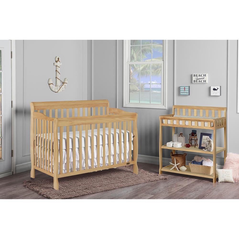 Natural Dream On Me Ashton 5 in 1 Convertible Crib