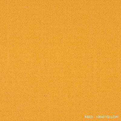 Reed Yellow Loop 19.68 in. x 19.68 in. Carpet Tiles (8 Tiles/Case)