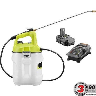 ONE+ 18-Volt Lithium-Ion Cordless 2 Gal. Chemical Sprayer with 2.0 Ah Battery and Charger Included