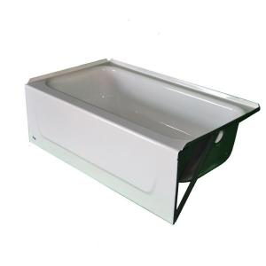 High Quality Right Hand Drain Soaking Tub In White