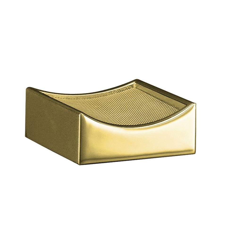 KOHLER Optional Drip Tray in Vibrant Polished Brass-DISCONTINUED