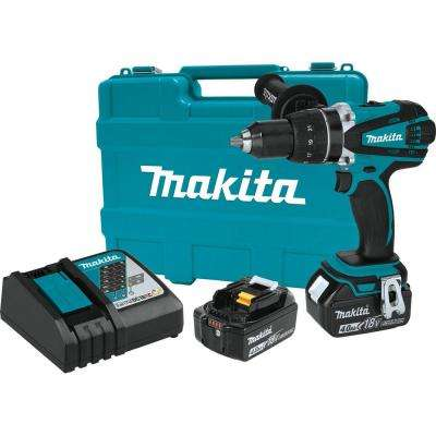 18-Volt 4.0Ah LXT Lithium-Ion 1/2 in. Cordless Driver-Drill Kit