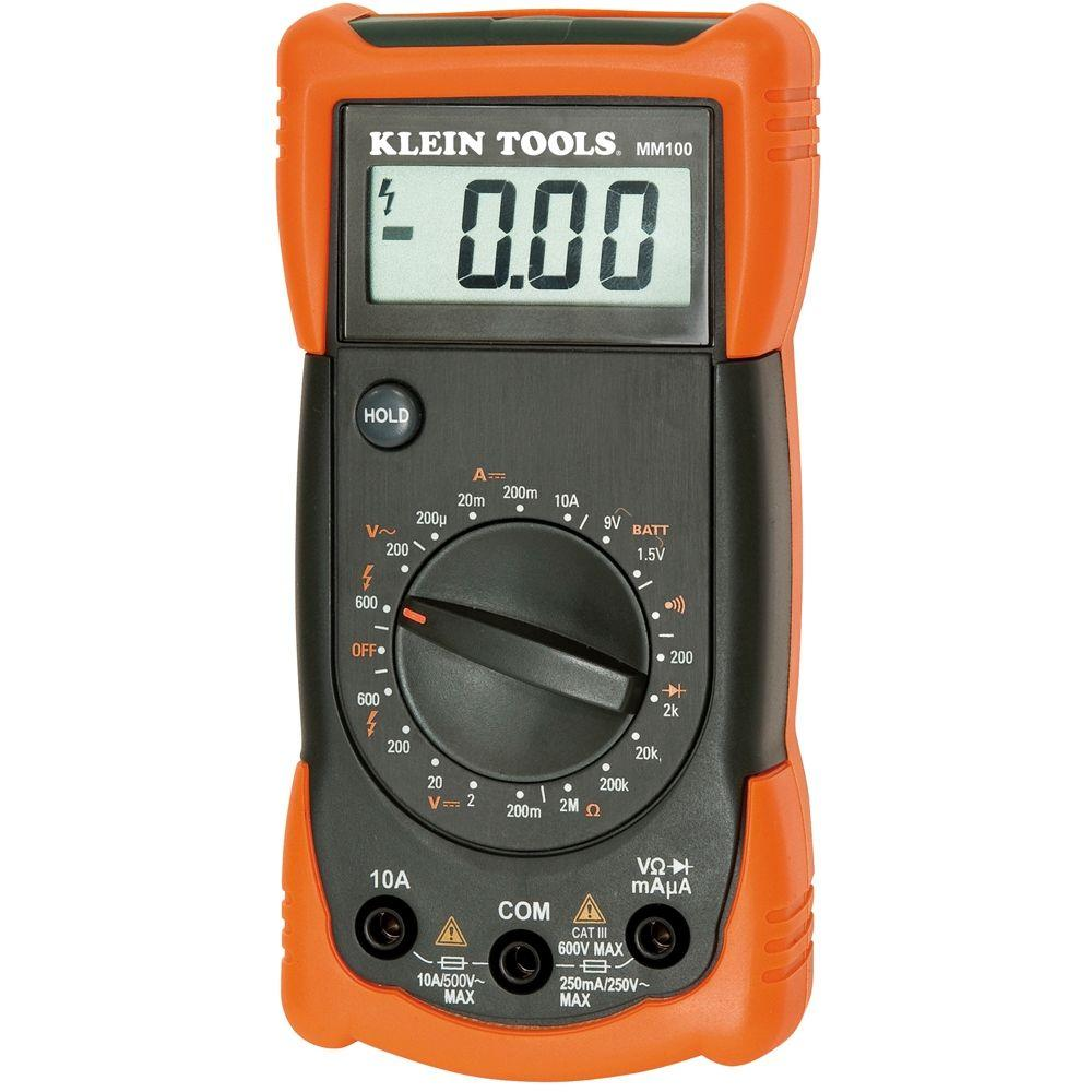Klein Tools Manual Ranging Multimeter