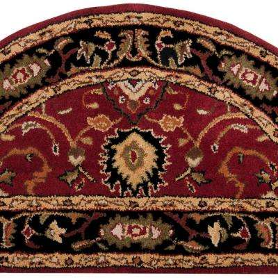 John Red 2 ft. x 4 ft. Accent Rug