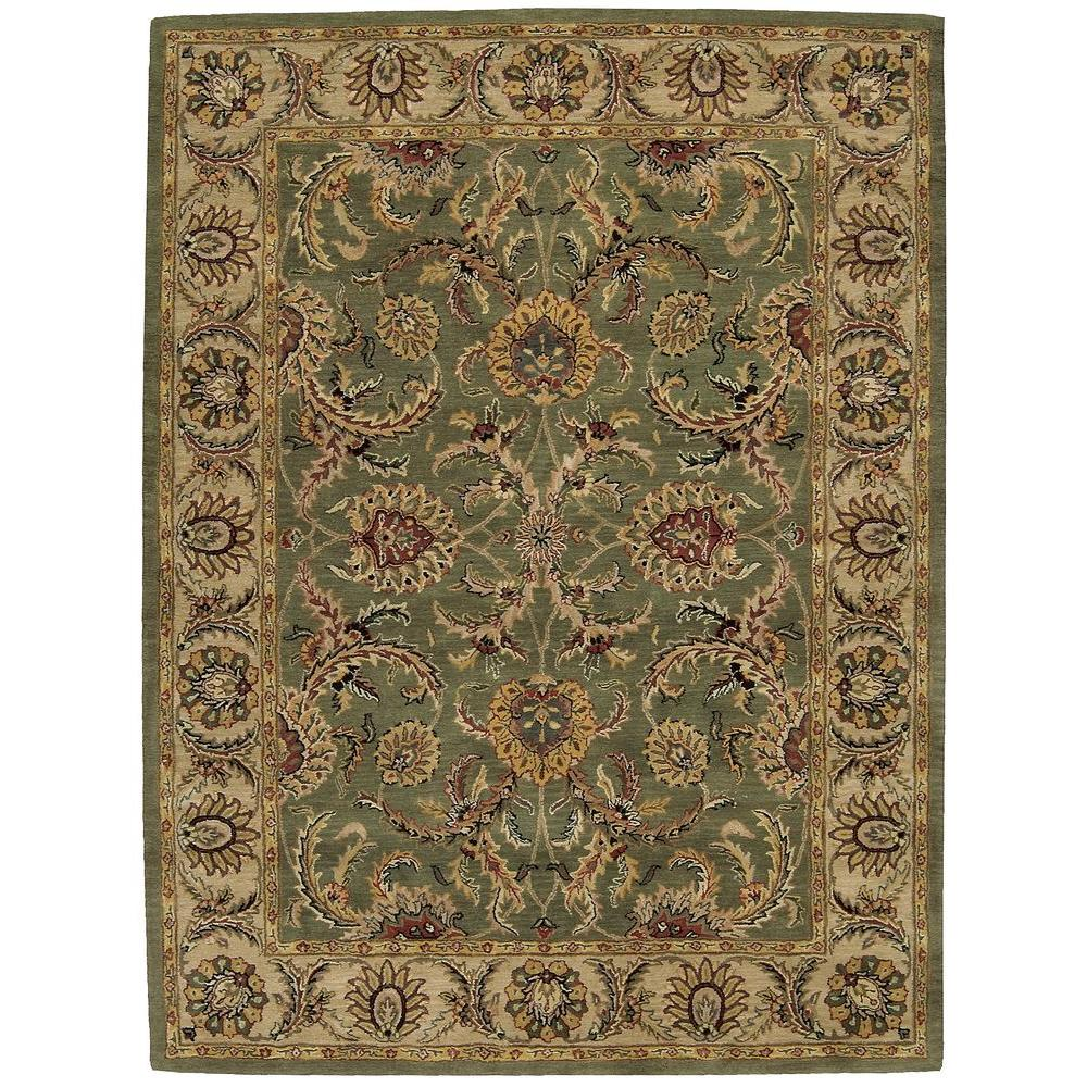 Nourison India House Green 5 Ft. X 8 Ft. Area Rug-304629