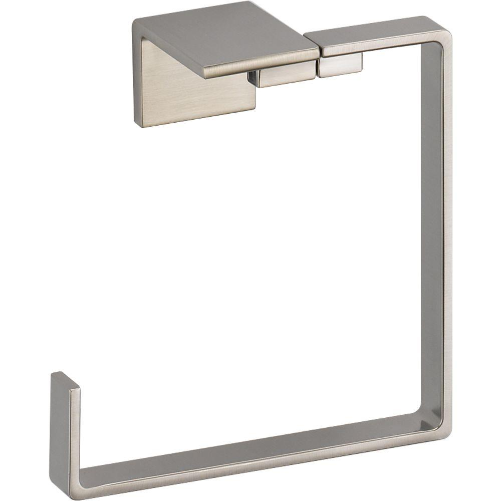 Delta Vero Open Towel Ring in Brilliance Stainless