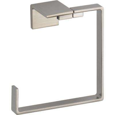 Vero Open Towel Ring in Brilliance Stainless