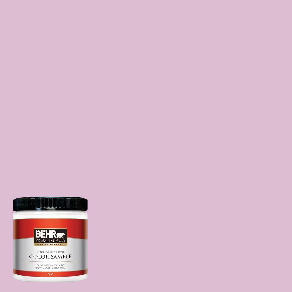 BEHR Premium Plus 8 oz. #690C-3 Delicate Bloom Interior/Exterior Paint Sample