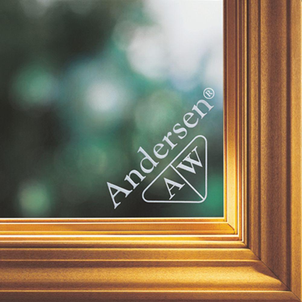 Andersen 6 Ft Oak Wood Threshold Patio Door 1207030 The Home Depot