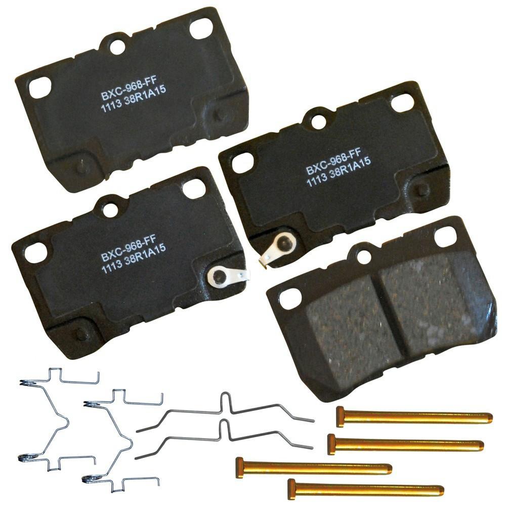Disc Brake Pad Set-ThermoQuiet Disc Brake Pad Front Wagner QC1022
