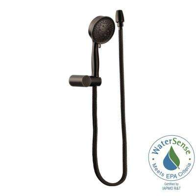 4-Spray Eco-Performance Handheld Handshower with Wall Bracket in Oil Rubbed Bronze