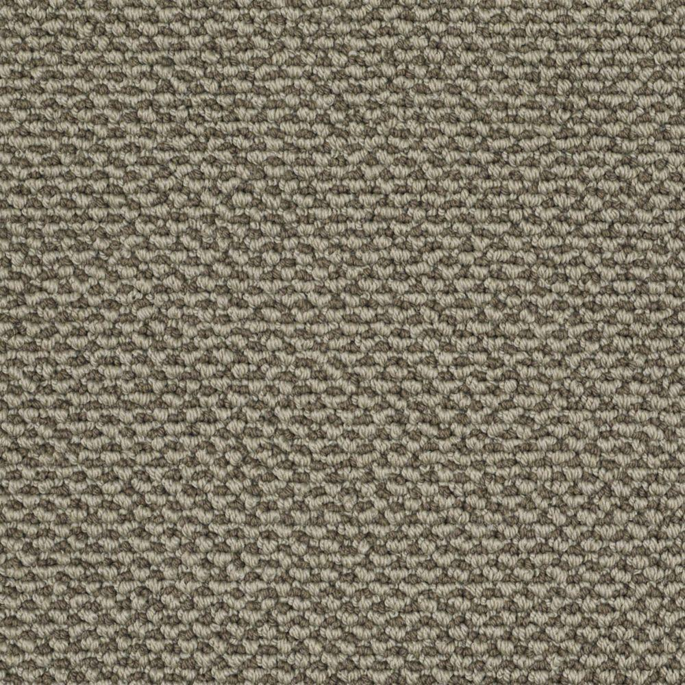 Martha Stewart Living Whitford Bay - Color Mushroom 6 in. x 9 in. Take Home Carpet Sample