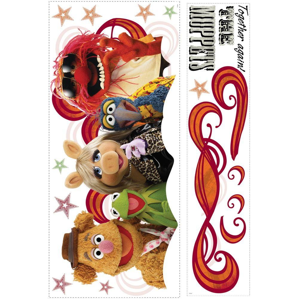 RoomMates Muppets - Collage Peel and Stick Giant Wall Decal