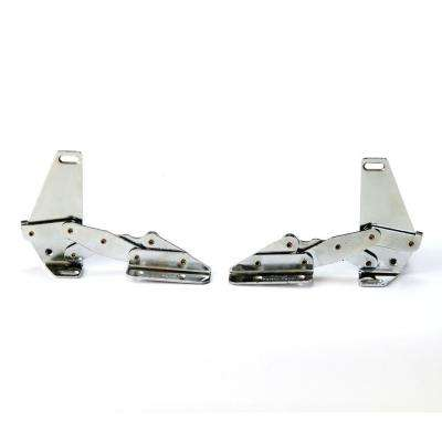 1.25 x 3.75 90 Degree Extend Tip Out Hidden Hinge in Chrome (1 Pair)