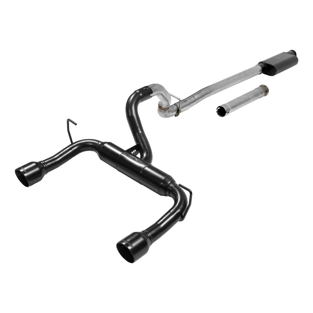 Flowmaster 2018 Jeep Wrangler JL 3 6L 409S Stainless Outlaw Cat-Back  Exhaust System
