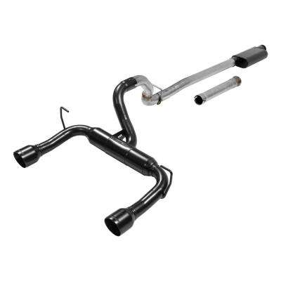 2018 Jeep Wrangler JL 3.6L 409S Stainless Outlaw Cat-Back Exhaust System